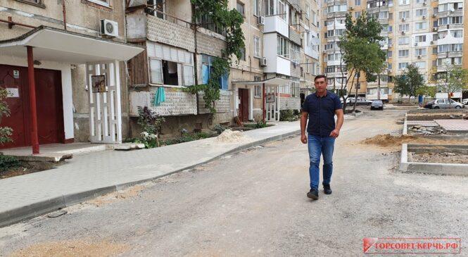 На улице Кавказской, 17, 19, 21 быстрыми темпами продвигается реновация дворов МКД