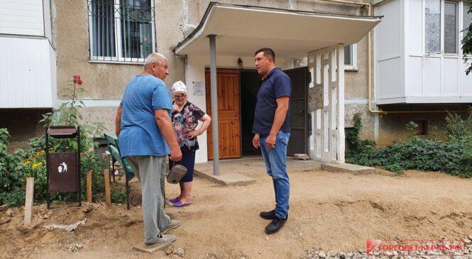 Депутатами осуществляется мониторинг работ по благоустройству