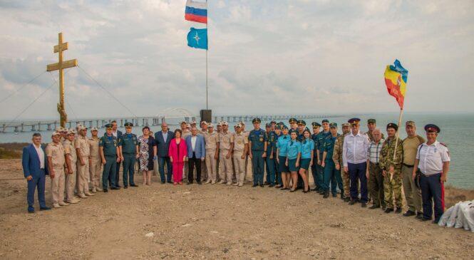 На Крепости «Керчь» наградили за работы по разминированию спасателей из Центра «Лидер»