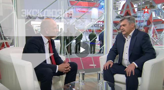 Депутат горсовета, генеральный директор «Залива» Игорь ОБРУБОВ дал интервью телеканалу «Звезда»