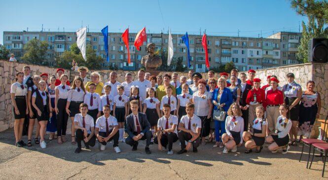 В школе-гимназии №1 открыли памятник Герою СССР Екатерине ДЁМИНОЙ