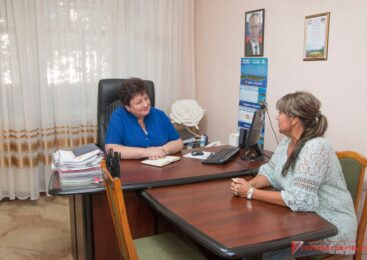 Ольга СОЛОДИЛОВА провела прием граждан на мажоритарном округе №3