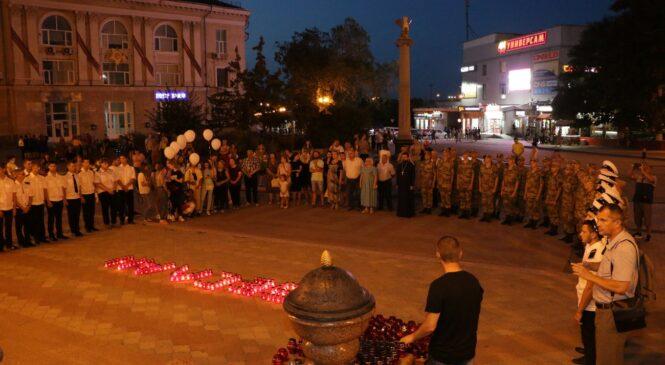 В Керчи вспоминали жертв терактов