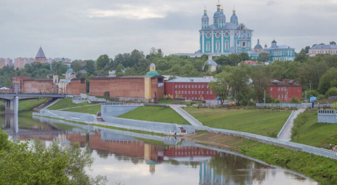 Побратим Керчи, город Смоленск отмечает 1157-й день рождения