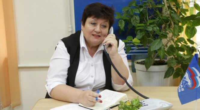 Ольга СОЛОДИЛОВА провела 11 ноября прием граждан по личным вопросам в телефонном режиме