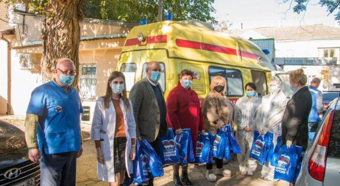 Депутаты поблагодарили за труд медиков, работающих в «красных зонах»