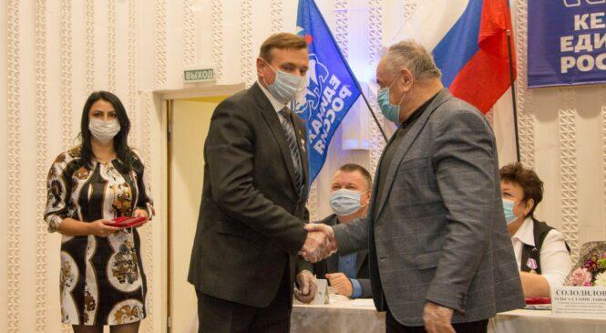 Депутатам городского совета вручили награды Госсовета Крыма