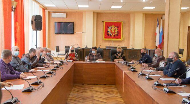 Состоялась 34-я сессия горсовета 2 созыва