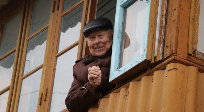 В Керчи поздравили с 95-летием фронтовика Николая ГОЛОВИНА