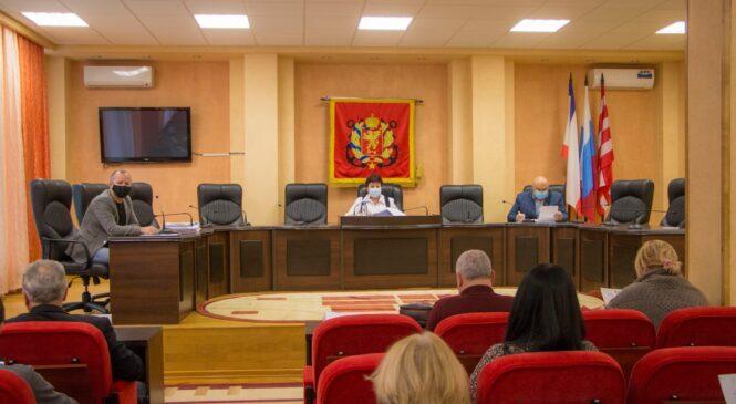 В Керчи состоялась 38 сессия горсовета