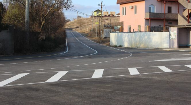 Компания «ВАД» завершила ремонт дороги по Шоссе Героев Эльтигена