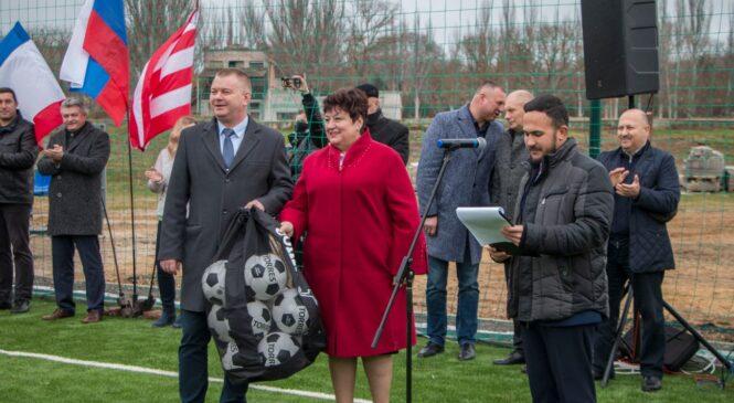 В Керчи торжественно открыта первая очередь реконструкции стадиона «Металлург»
