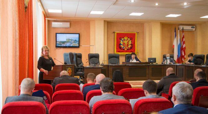 В Керчи состоялась 40 сессия горсовета