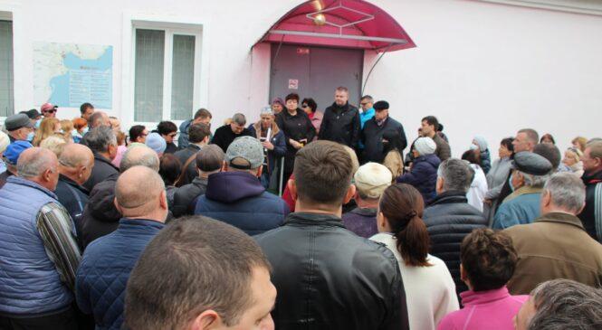 В Героевском прошла встреча с членами ТОС «Эльтиген»