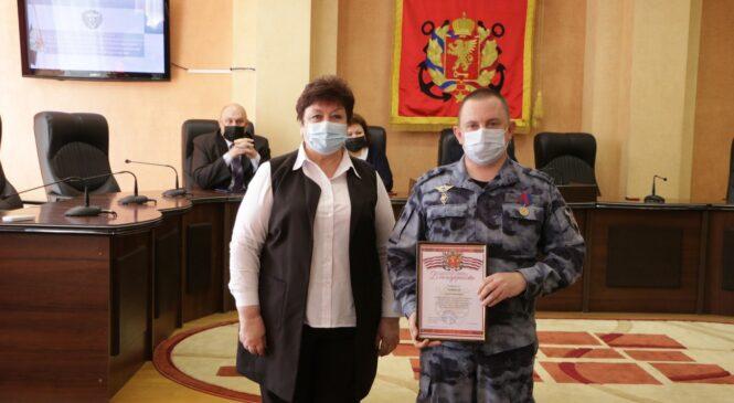 Отряд ОМОН по г. Керчи отметил третью годовщину создания подразделения