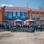 В Керчи спасателей поздравили с 372 годовщиной пожарной охраны