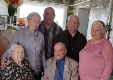 Фёдор КОЗЛОВ поздравил с 90-летием ветерана войны Анну ДЕЛЕГУ