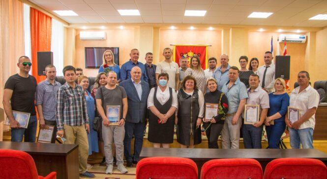 В Керчи поздравляли предпринимателей