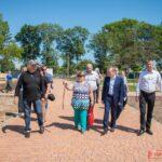 Депутат Госдумы РФ Константин БАХАРЕВ провел приём граждан и встречи во дворах Керчи