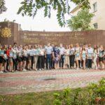 Состоялась встреча руководства города с золотыми медалистами 2021 года