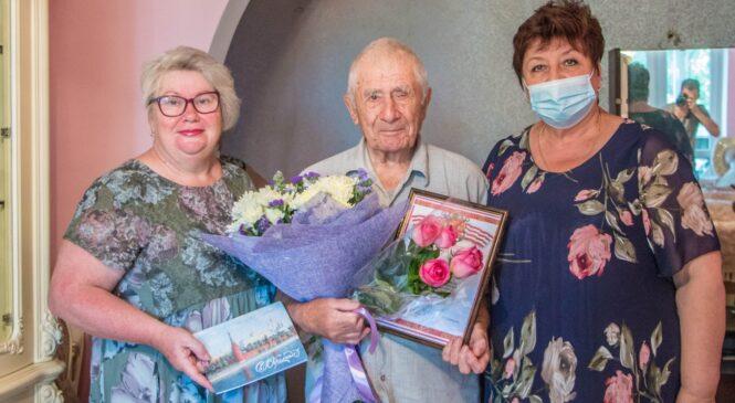 Ветеран Николай ПАНФИЛОВ отметил 90-й день рождения