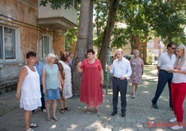 Пострадавшие от подтопления дворы по ул. К.Маркса, Борзенко и пер. Милицейскому планируют благоустроить