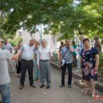 Продолжаются встречи с жителями подтопленных домов, чьи дворы будут благоустроены