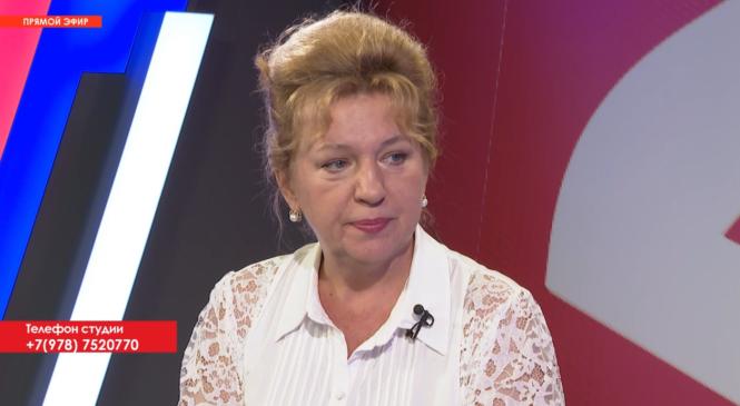 Депутат Наталья ДЕРЮГИНА приняла участие в программе «Открытая власть» от 26.08.2021г.