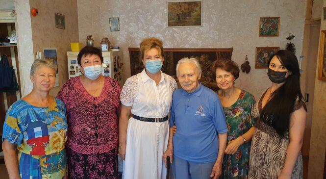 Фронтовик Михаил КОЛЬЧЕНКО отметил свой 102-й день рождения