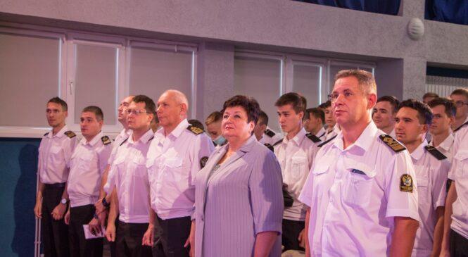 Глава муниципального образования поздравила с 1 сентября курсантов КГМТУ
